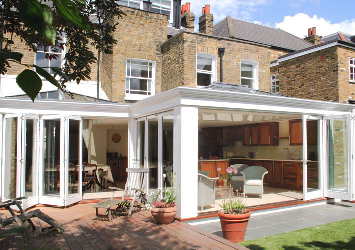 Conservatories orangeries roof lanterns hardwood for Garden rooms prices uk