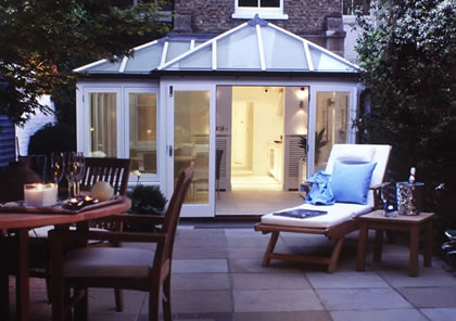 Conservatory in Kensington, London