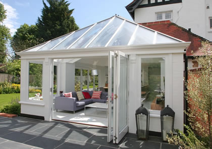 Conservatory and Garden Room in Conservation Area Berkshire