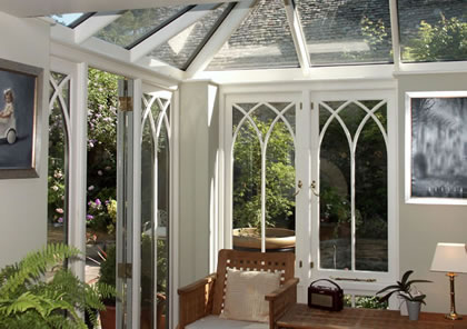 Conservatory near Burford in Oxfordshire