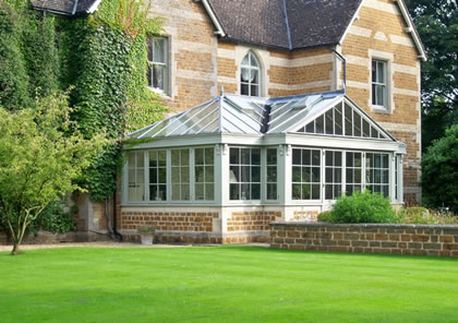 Conservatory on Grade II listed building near Banbury, Oxfordshire