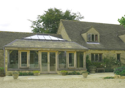 Orangery on Grade II Listed Rectory near Cirencester, Gloucestershire