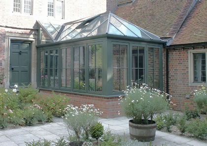 Conservatory Extension on Grade II listed building in Oxford