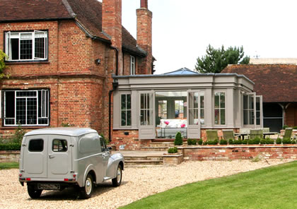 Listed building with Orangery in Buckinghamshire, London