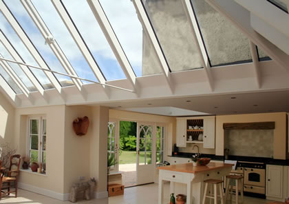 Kitchen conservatory in Oxford
