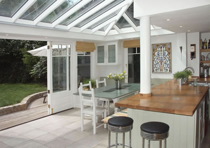 Kitchen extension conservatory near Kew, Richmond