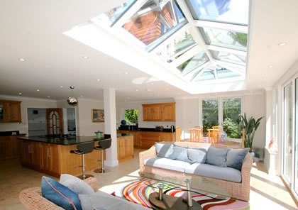 Orangery Kitchen Room in East Sussex