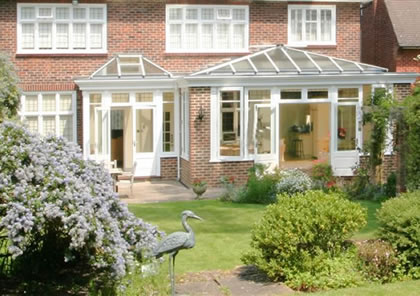 Double Orangery in South West London
