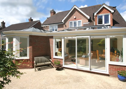 Double Orangery in Sussex