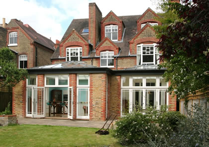 Double Orangery in Putney SW London