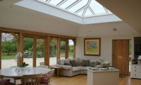 Large roof lantern in Gloucestershire