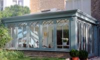 Gothic arched Orangery in Putney, South West London