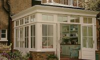 Traditional style Orangery on Victorian house in Putney, SW London